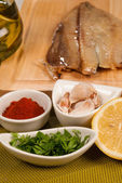 Marinade ingredients — Stock Photo