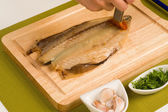Mediterranean mackerel — Stock Photo