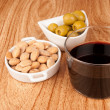 Mediterranean appetizer - Stock Photo