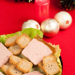 French Christmas starter - Foto Stock