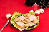 Christmas appetizer — Stock Photo