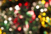 多重クリスマス ライト — ストック写真