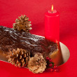 Stock Photo: Buche de Noel