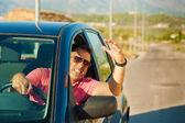 Road rage — Fotografia Stock