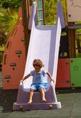Divertente parco giochi — Foto Stock