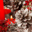 Handmade Christmas decoration - Stockfoto