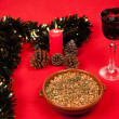 Stock Photo: Christmas starter