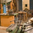Carpenter workshop — Stock Photo