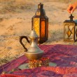 Moroccan lamps - Stock Photo