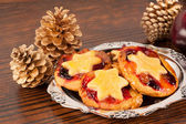 Fruity mince pies — Foto de Stock
