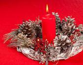 Decoración hecha a mano de la navidad — Foto de Stock