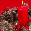 Handmade Christmas decoration - Foto Stock