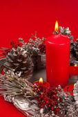 Handmade Christmas decoration — Стоковое фото