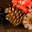 Stock Photo: Christmas decoration elements