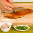 Spanish marinated mackerel — Stock Photo