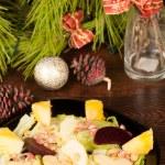 Christmas salad — Stock Photo #13868982