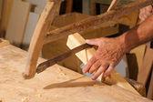 Carpinteria tradicional — Foto de Stock