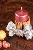 Creative Christmas decoration — Stock Photo
