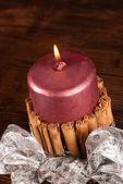 Candle christmas. — Stock Photo