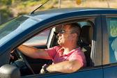 マッチョなドライバー — ストック写真