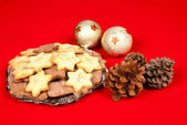 Christmas biscuits — Stock Photo