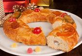 Roscon de Reyes — Stock Photo