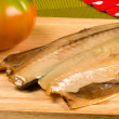 Dried mackerel — Stock Photo