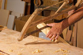 Traditional carpentry — Stock Photo