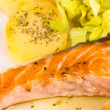 Roast salmon — Stock Photo #14951587