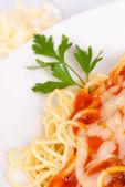 古典的なスパゲッティ — ストック写真