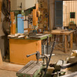 Stock Photo: Carpenter workshop