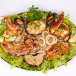 Parrilladde pescado y marisco — Stock Photo #18537911