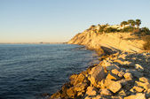 Alicante coastline — Stock Photo