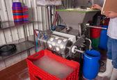 Fermenting milk — Stock Photo