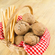 Traditional bread basket — Stock Photo #19155667
