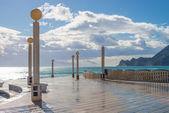 Altea beach promenade — Stock Photo
