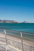 Playa de altea — Foto de Stock