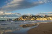 пляж кальпе — Стоковое фото