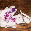 Sewing pattern - Stock Photo