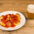 Spanish potato tapa — Stock Photo