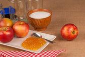 Apple marmeláda — Stock fotografie