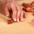 Dried tomatoes — Stock Photo #22476213