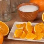 Orange marmalade — Stock Photo #22476919