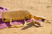 Beach items — Stock Photo
