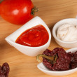 Salsa brava ingredients — Stock Photo