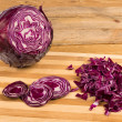 Chopped cabbage - Photo
