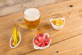 Assorted tapas — Stock Photo