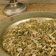 Echinacea infusion — Stock Photo