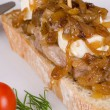 Stock Photo: Loin tapa