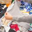 Stock Photo: Jumble sale